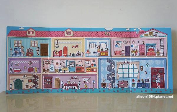 可愛時尚的磁鐵娃娃屋--夢幻娃娃屋 (風車)11.jpg