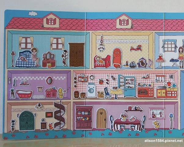 可愛時尚的磁鐵娃娃屋--夢幻娃娃屋 (風車)12.jpg