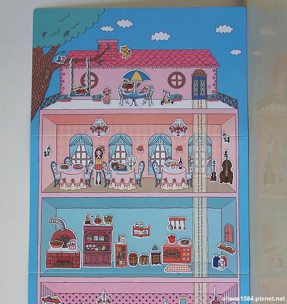 可愛時尚的磁鐵娃娃屋--夢幻娃娃屋 (風車)16.jpg