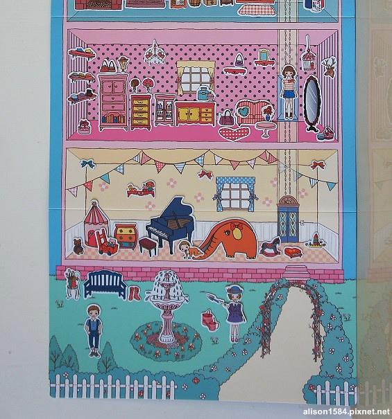 可愛時尚的磁鐵娃娃屋--夢幻娃娃屋 (風車)17.jpg