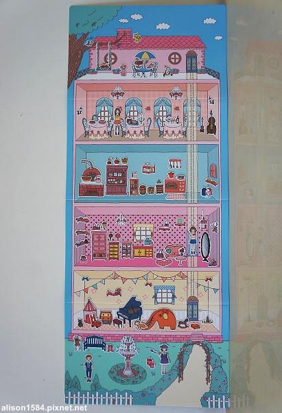 可愛時尚的磁鐵娃娃屋--夢幻娃娃屋 (風車)15.jpg