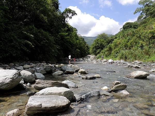 風光明媚的白匏溪