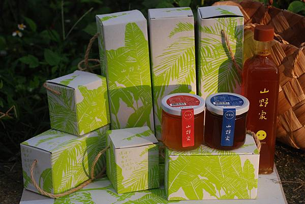 山野家蜂蜜禮盒全家福