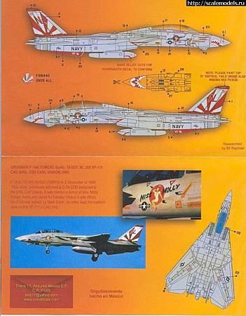 F-14A VF-111貼-ztz48024-02
