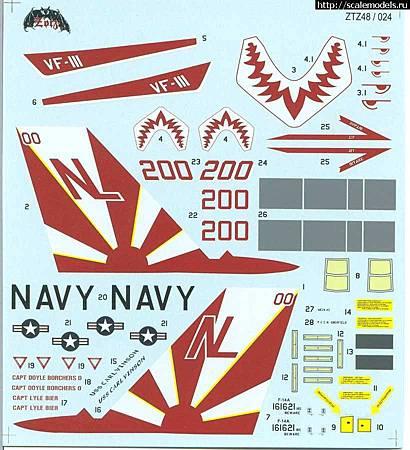 F-14A VF-111貼-ztz48024-04
