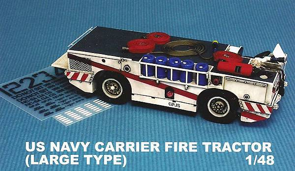 US NAVY CARRIER FIRE TRACTOR LARGE TYPE-48-1