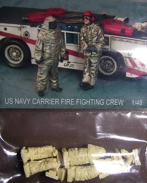 US NAVY CARRIER FIRE FIGHTING CREW-48-04