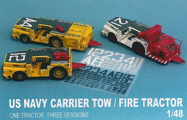 US NAVY CARRIER TOW FIRE TRACTOR-01