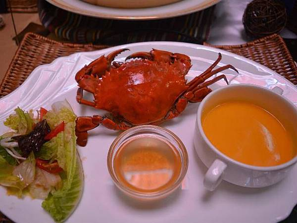 入秋品蟹味鮮甜 樂活清爽輕蔬食