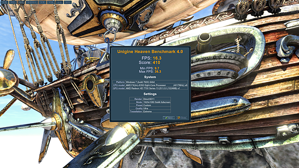 Heaven Benchmark 4.0(FX990)