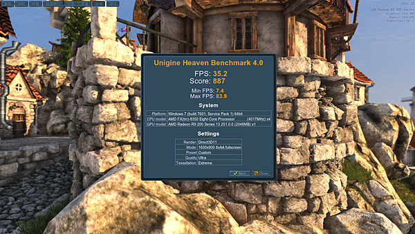 Unigine Heaven Benchmark 4.0