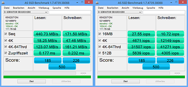 AS SSD Benchmark 01
