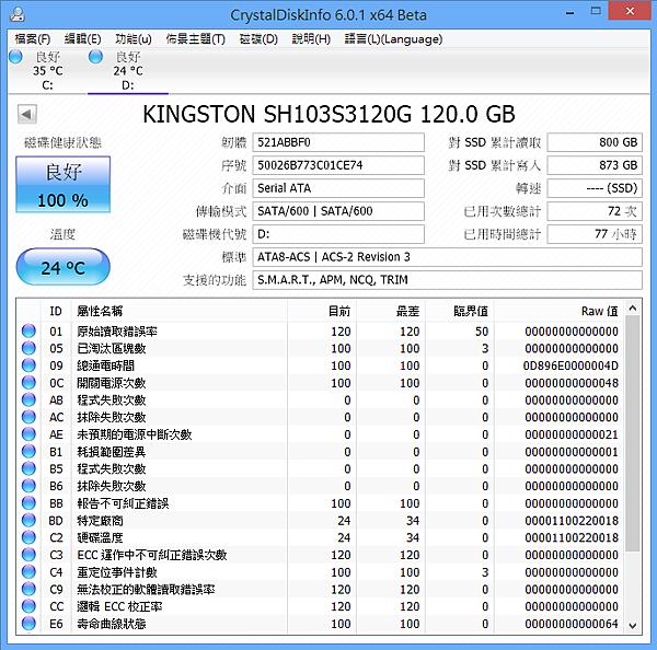CrystalDiskInfo 6.0.1