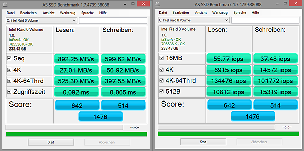 AS SSD Benchmark 1.7.4