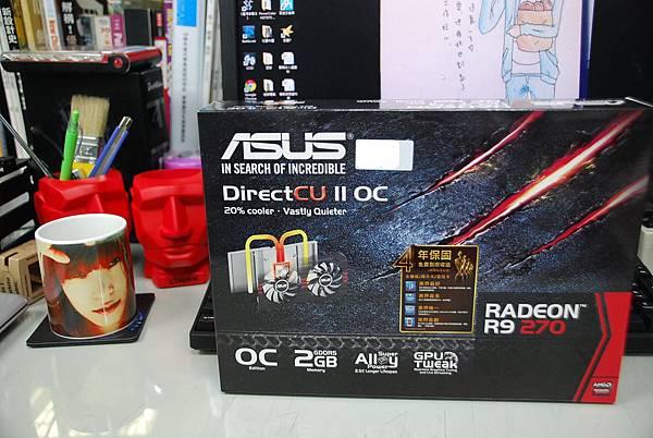 『開箱』ASUS R9 270