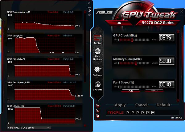 預設GPU Tweak