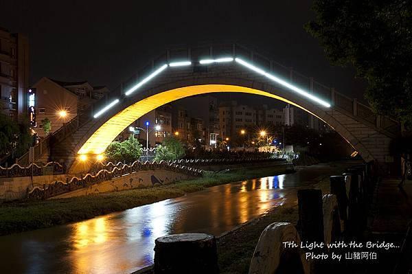 2011-08-10 竹北市翰林橋夜色