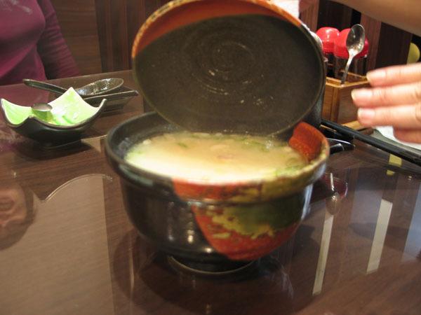 和壽司-味增魚湯
