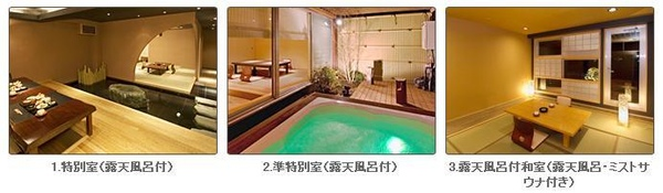 大江戶溫泉物語-露天風呂附個室1