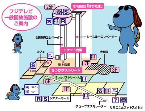 富士電視台-樓層介紹.JPG
