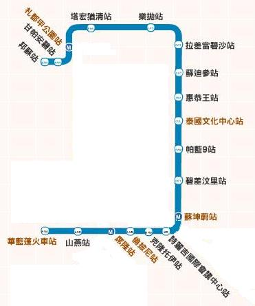 曼谷捷運圖-METRO.JPG