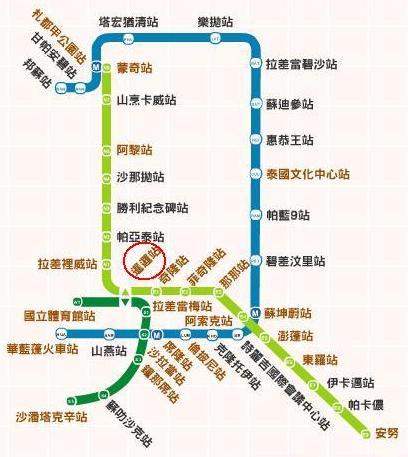 曼谷捷運圖-第三天.JPG