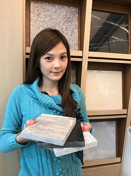 台灣石材業者自主管理檢測輻射,民眾選購裝潢石材無須擔心(石材公會提供)