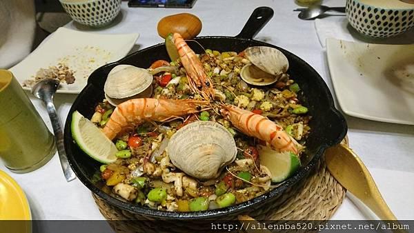 幹嘛餐酒館~西班牙料理x花東食材~西班牙大蝦大蛤蠣海鮮燉飯027