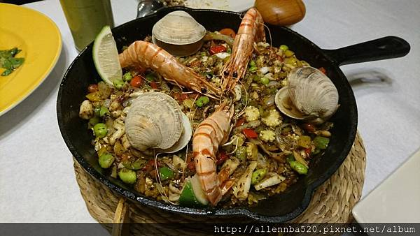 幹嘛餐酒館~西班牙料理x花東食材~西班牙海鮮燉飯026