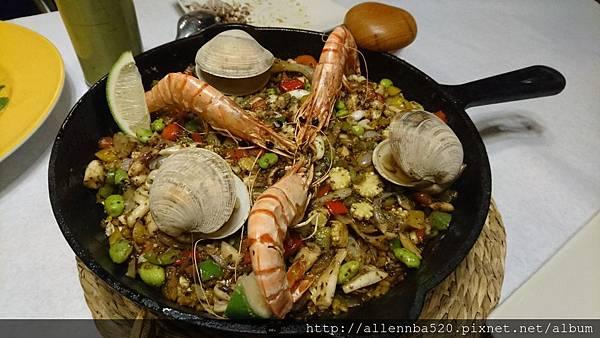 幹嘛餐酒館~西班牙料理x花東食材~海鮮(蛤蠣)燉飯025