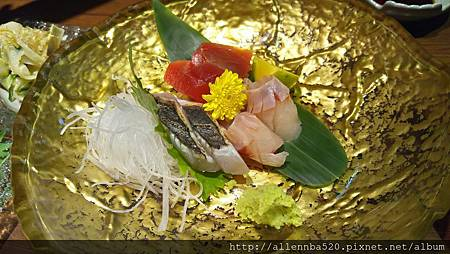 清酒日本料理餐廳@忠孝敦化美食Senn先酒肴-當日新鮮漁獲生魚片008