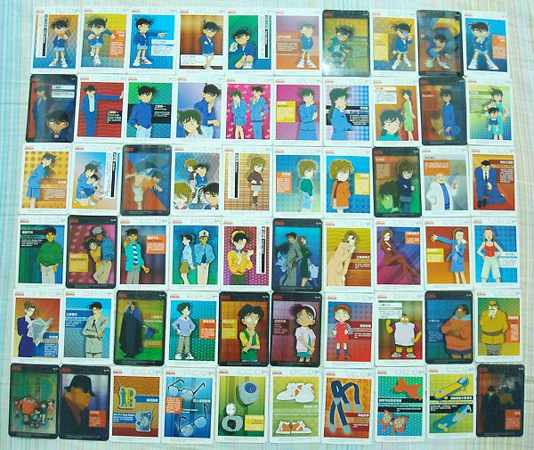 60張卡片大合照
