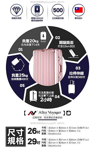 鋁框箱,行李箱推薦,行李箱品牌,奧莉薇閣行李箱2