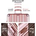 鋁框箱,行李箱推薦,行李箱品牌,奧莉薇閣行李箱11