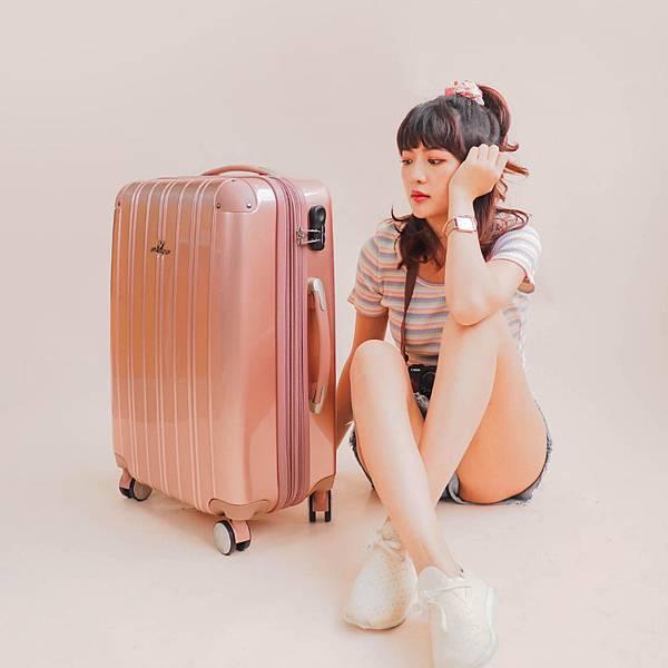 行李箱,奧莉薇閣,行李箱推薦,旅行箱,國色天箱,奧莉薇閣行李箱玫瑰金-(6)