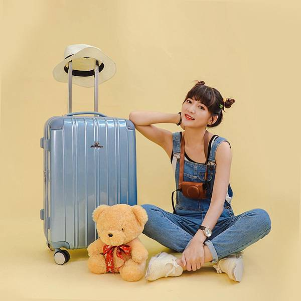 行李箱,奧莉薇閣,行李箱推薦,旅行箱,國色天箱,奧莉薇閣行李箱寧靜藍-(5)