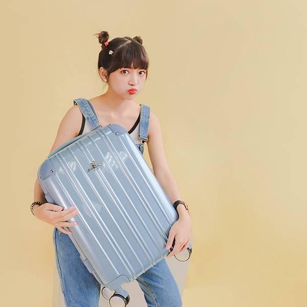 行李箱,奧莉薇閣,行李箱推薦,旅行箱,國色天箱,奧莉薇閣行李箱寧靜藍-(4)