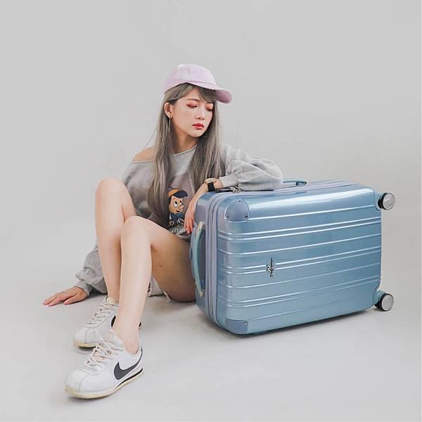 行李箱,奧莉薇閣,行李箱推薦,旅行箱,國色天箱,奧莉薇閣行李箱寧靜藍-(3)