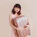 行李箱,奧莉薇閣,行李箱推薦,旅行箱,國色天箱,奧莉薇閣行李箱玫瑰金-(2)