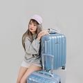 行李箱,奧莉薇閣,行李箱推薦,旅行箱,國色天箱,奧莉薇閣行李箱寧靜藍 (6)