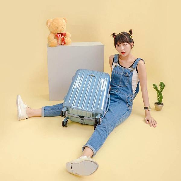 行李箱,奧莉薇閣,行李箱推薦,旅行箱,國色天箱,奧莉薇閣行李箱寧靜藍 (7)