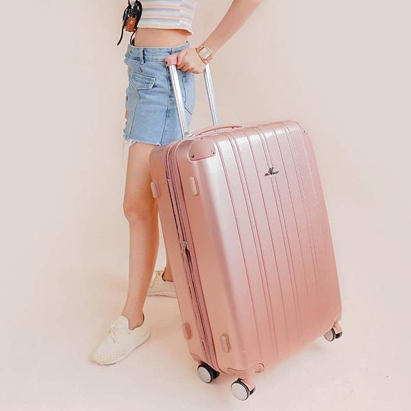 行李箱,奧莉薇閣,行李箱推薦,旅行箱,國色天箱,奧莉薇閣行李箱玫瑰金 (1)