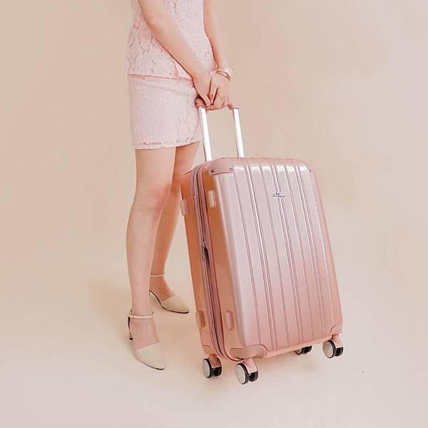 行李箱,奧莉薇閣,行李箱推薦,旅行箱,國色天箱,奧莉薇閣行李箱玫瑰金 (2)
