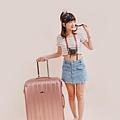 行李箱,奧莉薇閣,行李箱推薦,旅行箱,國色天箱,奧莉薇閣行李箱玫瑰金 (5)