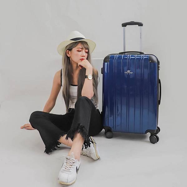 行李箱,奧莉薇閣,行李箱推薦,旅行箱,國色天箱,奧莉薇閣行李箱深藍 (2)