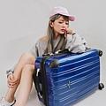 行李箱,奧莉薇閣,行李箱推薦,旅行箱,國色天箱,奧莉薇閣行李箱深藍 (1)