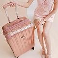 行李箱,奧莉薇閣,行李箱推薦,旅行箱,國色天箱,奧莉薇閣行李箱玫瑰金 (10)