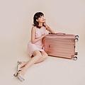 行李箱,奧莉薇閣,行李箱推薦,旅行箱,國色天箱,奧莉薇閣行李箱玫瑰金 (3)