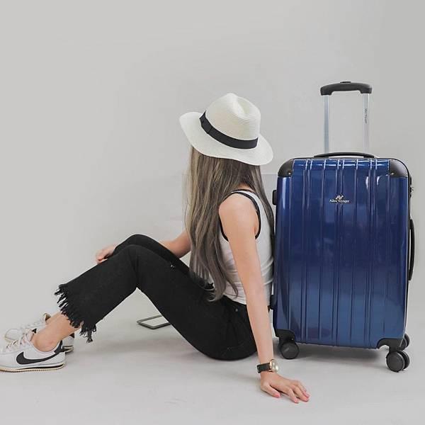 行李箱,奧莉薇閣,行李箱推薦,旅行箱,國色天箱,奧莉薇閣行李箱深藍 (6)