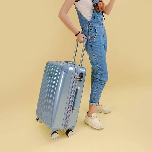 行李箱,奧莉薇閣,行李箱推薦,旅行箱,國色天箱,奧莉薇閣行李箱寧靜藍 (1)